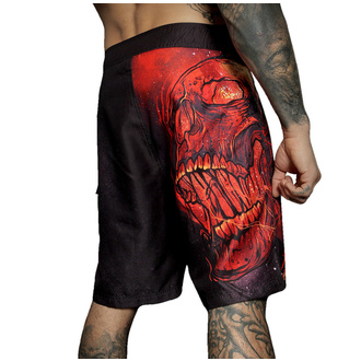 Herren Badeshorts HYRAW - BURN IN HELL, HYRAW