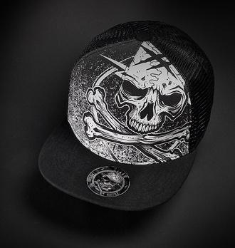 Mütze  HYRAW - WEISS BLAZON - FW21-A01-CAP