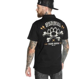 Herren T-Shirt HYRAW - Graphic - POLO KNUCKLEDUSTER, HYRAW