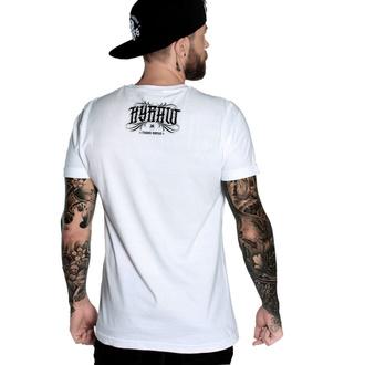 Herren T-Shirt HYRAW - Graphic - fucking H blanc, HYRAW