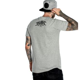Herren T-Shirt HYRAW - Graphic - DEATH AWAIST GRIS, HYRAW