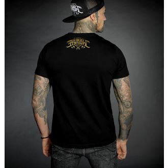 Herren T-Shirt HYRAW - Graphic - ALREADY DEAD - GOLD, HYRAW