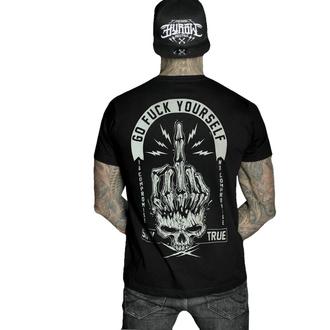Herren T-Shirt HYRAW - Graphic - GO FUCK - SCHWARZ, HYRAW