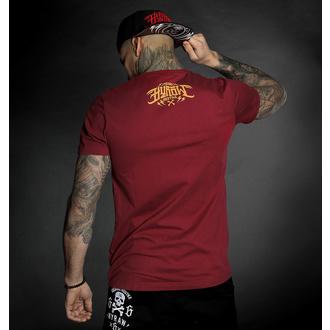 Herren T-Shirt HYRAW - Graphic - GO FUCK RED, HYRAW