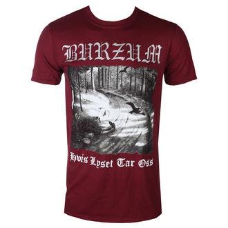 Herren T-Shirt Metal Burzum - HVIS LEBENSMITTEL TEER OSS (KASTANIENBRAUN) - PLASTIC HEAD, PLASTIC HEAD, Burzum