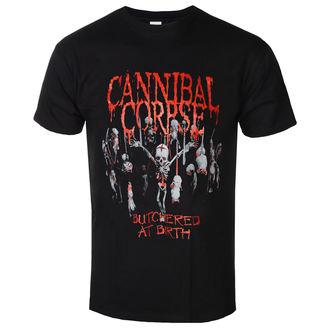 Herren T-Shirt Cannibal Corpse  - Butchered At Birth - PLASTIC HEAD, PLASTIC HEAD, Cannibal Corpse