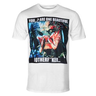 Herren T-Shirt Predator - You Are Beautiful - Weiß - HYBRIS, HYBRIS, Predator