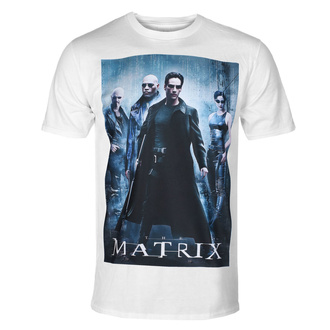 Herren T-Shirt The Matrix - Poster - Weiß - HYBRIS, HYBRIS, Matrix