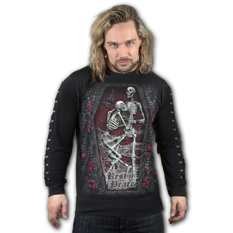 Herren Sweatshirt - REST IN PEACE - SPIRAL, SPIRAL