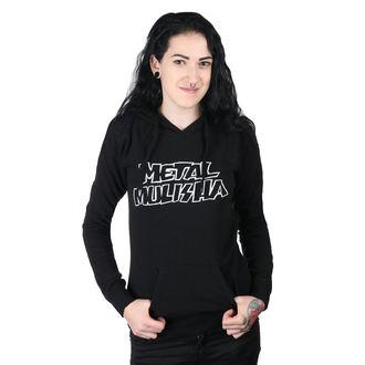 Damen Hoodie - SQUAD PO BLK - METAL MULISHA, METAL MULISHA