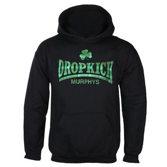 Herren Kapuzenpullover Dropkick Murphys - Fighter Plaid - Schwarz, KINGS ROAD, Dropkick Murphys