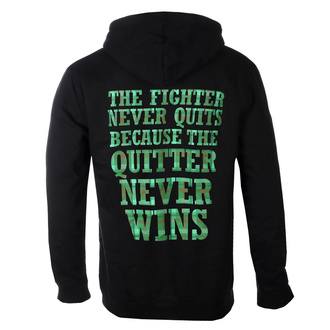 Herren Kapuzenpullover Dropkick Murphys - Fighter Plaid - Schwarz, KINGS ROAD, Dropkick Murphys