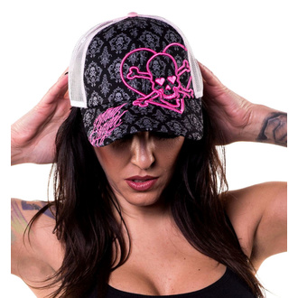 Kappe Cap LETHAL THREAT - ANGEL HEART SKULL, LETHAL THREAT
