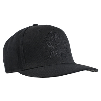 Kappe Cap Queen - Crest BL - ROCK OFF, ROCK OFF, Queen