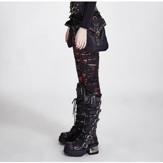 Damen Leggings PUNK RAVE - Ripped, PUNK RAVE
