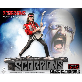 Figur Scorpions - Matthias Jabs - KNUCKLEBONZ, KNUCKLEBONZ, Scorpions
