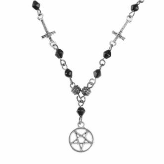 Anhänger Halskette Pentagram-Kreuz, FALON