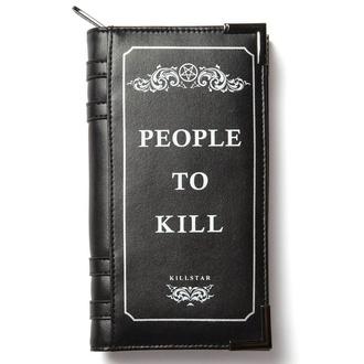 Geldbörse KILLSTAR - Kill List - SCHWARZ, KILLSTAR