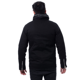 Herren Jacke POIZEN INDUSTRIES - KINGSTON - SCHWARZ, POIZEN INDUSTRIES