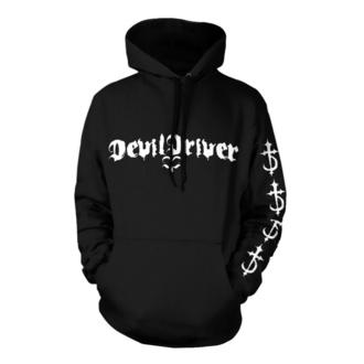 Herren Hoodie Devildriver - Logo Careless Black - NNM, NNM, Devildriver