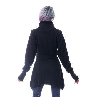Damen Pullover POIZEN INDUSTRIES - KORZANA - SCHWARZ, POIZEN INDUSTRIES