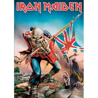 Postkarte IRON MAIDEN - The Trooper, ROCK OFF, Iron Maiden