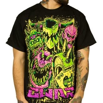 Herren T-Shirt Metal Gwar - Faces - INDIEMERCH, INDIEMERCH, Gwar