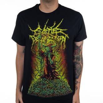 Herren T-Shirt Metal Cattle Decapitation - Justice Reaper - INDIEMERCH, INDIEMERCH, Cattle Decapitation