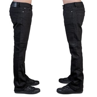 Herren Hose Jeans WORNSTAR - Essentials - Wegbereiter Schwarz Denim, WORNSTAR
