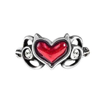 Ring ALCHEMY GOTHIC - Little Devil Heart, ALCHEMY GOTHIC