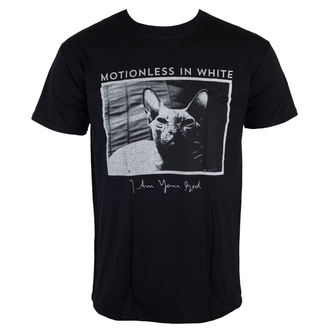 Herren T-Shirt Motionless in White - Cat - LIVE NATION, LIVE NATION, Motionless in White