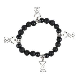 Armband Luciferothica - black & silver, LUCIFEROTHICA