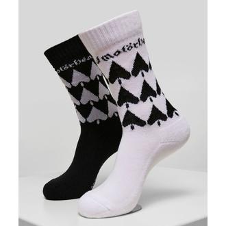 Socken Motörhead - 2-Pack - schwarz / weiß, NNM, Motörhead