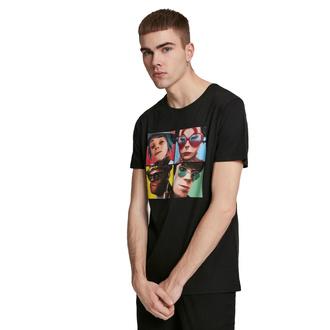 Herren T-Shirt Gorillaz - 4 Faces - schwarz, NNM, Gorillaz