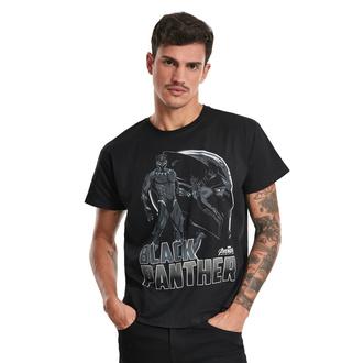Herren T-Shirt Black Panther - Logo - Marvel Comics, NNM, Marvel Comics