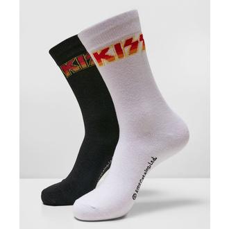 Socken (2er Pack) Kiss - 2-Pack - schwarz / weiß, NNM, Kiss