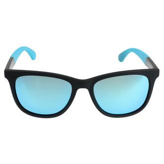 Sonnenbrille MEATFLY - CLUTCH B 4/17/55 - SCHWARZ/ BLAU , MEATFLY