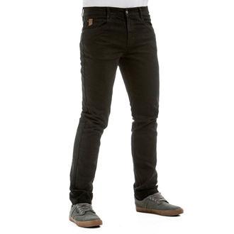 Herren Hose (Jeans) MEATFLY - Riot 2 - 1/7/55, A - Schwarz, MEATFLY