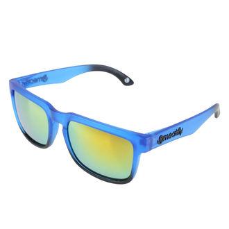Sonnenbrille MEATFLY - MEMPHIS - E - 4/17/55 - Blau Matt, MEATFLY