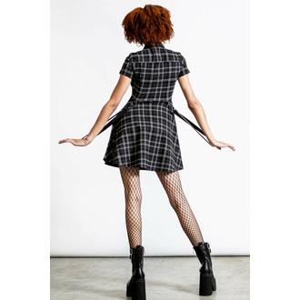 Frauenkleider KILLSTAR - Menace Kragen - ASH TARTAN, KILLSTAR