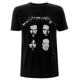 Herren-T-Shirt Metallica - 4 Faces - Schwarz, NNM, Metallica