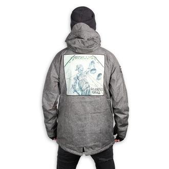 Winter Metal Jacke (Snowboardjacke ) METALLICA x SESSIONS, SESSIONS, Metallica