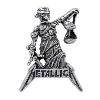 Pin ALCHEMY GOTHIC - Metallica - Justiz Zum Alle, ALCHEMY GOTHIC, Metallica