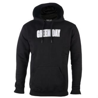 Herren Hoodie Green Day - Logo & Grenade Applique - ROCK OFF, ROCK OFF, Green Day