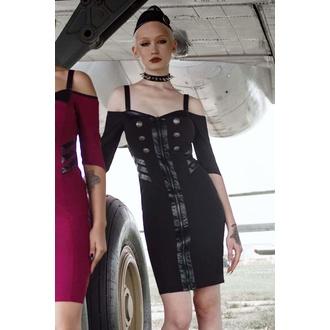 Damenkleid von KILLSTAR - Miss Stardust - SCHWARZ, KILLSTAR