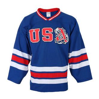 tričko pánské s dlouhým rukávem (dres) AMON AMARTH - BLUE/RED/WHT HOCKEY - JSR, Just Say Rock, Amon Amarth