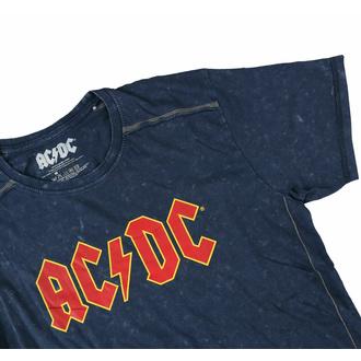 Herren T-Shirt AC/DC - Logo - Snow Wash, ROCK OFF, AC-DC