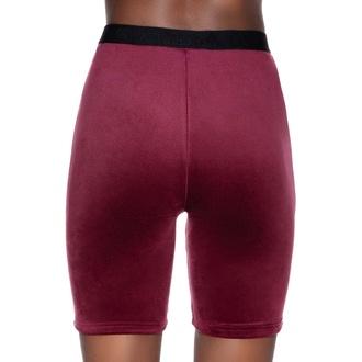 Damen Shorts KILLSTAR - Shes Deadly Lace - BURGUNDY, KILLSTAR