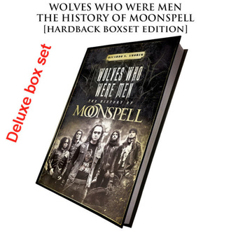 Buch (Geschenkset) Wolves Who Were Men (Signed deluxe hardback boxset), CULT NEVER DIE, Moonspell