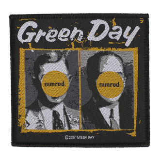 Patch Aufnäher Green Day - Nimrod - RAZAMATAZ, RAZAMATAZ, Green Day
